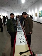 李元德先生《千里三峡图》惊艳画展