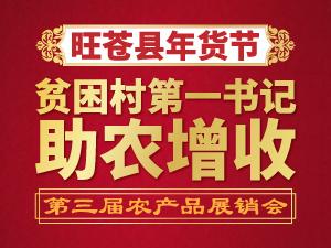 2019旺苍县贫困村第一书记助农增收活动第三届农产品展销会