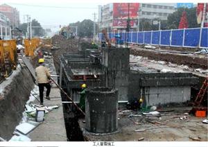 同安路地下综合管廊工程年前临时通车