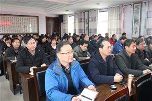 县考核组对合阳县教育局2018年度目标任务完成情况进行考核