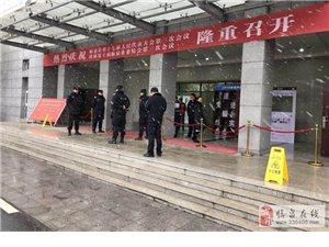 """临泉巡防多措并举力保""""两会""""期间社会治安秩序稳定"""