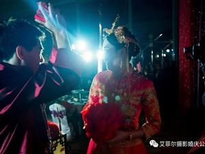 准新如何选择婚礼当天的摄影师|万盛艾菲尔摄影・婚庆公司告诉你……