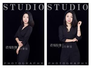 福州世欧王庄照相馆添福影像世欧广场店形象照拍摄公司企业团队形象照拍摄
