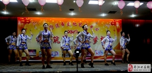 丹江口燕衔泥舞文化艺术中心迎新春文艺晚会视频图片分享