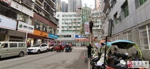 盐亭新西街社区低碳文化推广道旗宣传项目完成制作安装