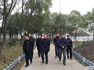 安庆市美丽办到孔城督导美丽乡村迎检准备工作