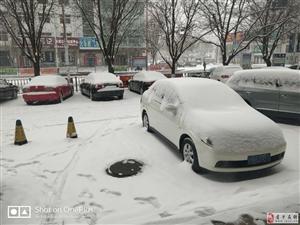 2019年建平还能下雪吗?在线等......