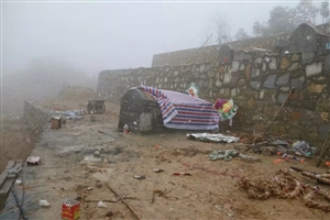 通城一违规农村公盖性公墓建设被叫停