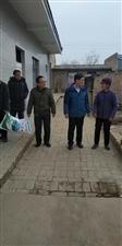 合阳县职教中心党政领导 赴尧头社区开展扶贫慰问调研活动