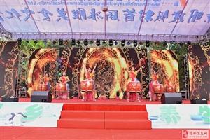 揭西首届冰雕美食文化节在京明举行