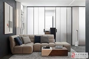 太原万景嘉苑小区92平米现代极简主义风格装修设计