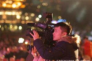 1月21日晚上,广汉市首届少儿春晚在金雁广场隆重举行(组图)