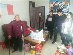 合阳县住建局对11个帮扶村43户特殊困难家庭送温暖