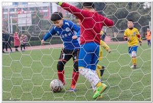 中国足球的希望,未来足球的明星。加油,少年勇士们(组图)