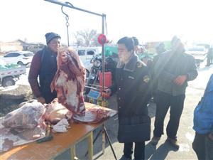 沙井食药所开展非洲猪瘟防控专项整治活动
