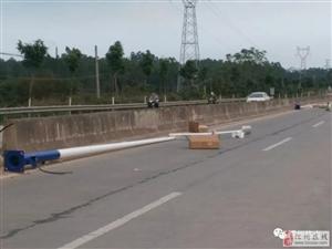 207国道转杨梅镇路段全覆盖路灯,告别黑暗...