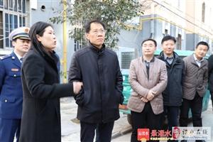 区委书记谢元赴一线排查基层基础风险点要求