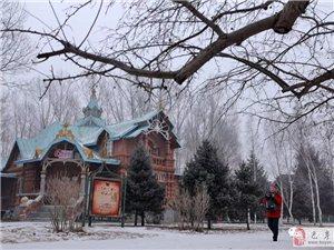 苏城巴彦摄影之哈尔滨伏尔加庄园的冰雪童话-吴欣新