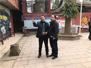仁寿消防大队开展春节前寺庙消防安全检查