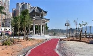 揭西县榕江南河两岸整治工程最新施工进展
