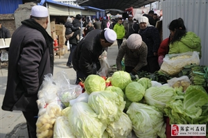 张家川县城的年集,牛羊肉抢手,天水两县五区独一无二