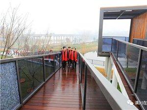 投资1.3亿!潢川县第一座公园正式开园,位置在小潢河...