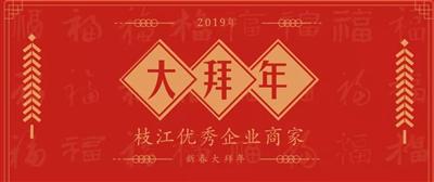 拜年啦!看大拜年视频领红包!2019枝江优秀企业商家给全市人民拜年啦!