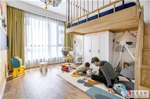江水平装修:一儿一女的儿童房怎么装修?生娃前就要设计好!