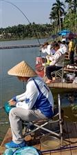 春节期间东红莲花休闲垂钓举行全民垂钓竞技术比赛活动(图文)