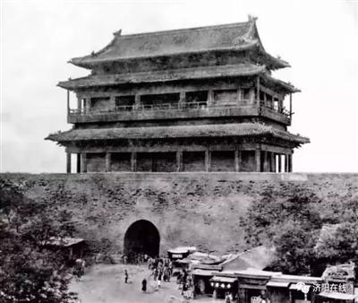 济阳老照片:旧时曲堤街的黑风口、月牙桥、无梁大殿!