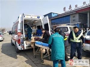 惊险!乘客在滑县服务区突发疾病……