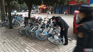 广安区城管开展节后市容秩序整治