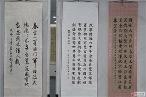 邹城迎新春书画展书法作品欣赏《2》!