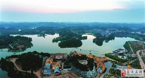 盐亭周边游|一小时飙南部八尔湖!湖光山色、水幕喷泉美不胜收!
