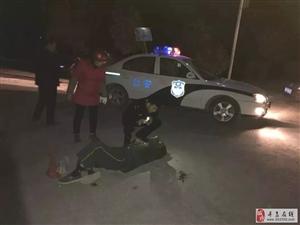 寻乌南桥一醉汉昏迷倒地,幸好遇到他们,不然后果不堪设想,为民警们点赞!