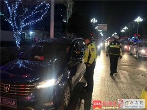 溧水区交警大队扎实开展节后春运安保工作