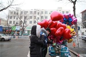 大雪撞上情人节,博兴街头一碗猝不及防的狗粮,我干了!