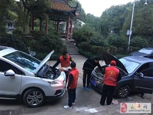 还寺庙一片净土―永丰县志愿者协会在行动