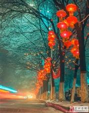 最美栾川――流光溢彩打铁花,火树银花不夜天