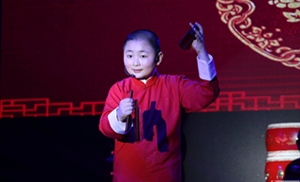 厉害了!博兴县店子这个小演员 说学逗唱一点也不输岳云鹏!