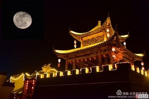 【元宵节献礼】武功古城:即将消失的技艺传统手工大红灯笼|图文:党小成