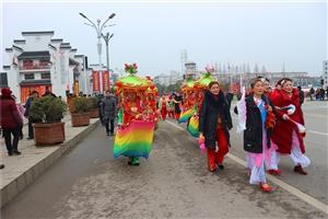 全椒县的太平桥活动――求平安