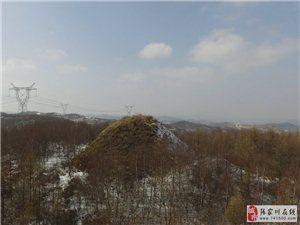 航拍丝路张家川县境内千年烽燧烽火台