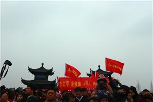 全椒县的走太平桥活动――服务要努力