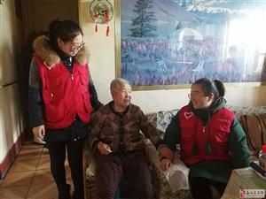 关爱高龄老人 社区社工在行动