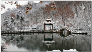 初五、雪、深秀湖 !