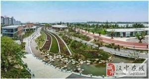 """汉中滨江新区,一张美丽的""""汉中城市名片"""""""