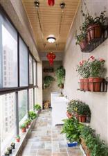 现在的室内阳台装修设计都是这种风格,你需要了解一下