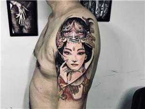 巩义市巩义海刺青纹身。专业设计
