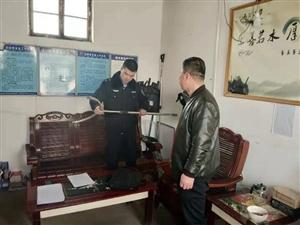 合阳县公安局南蔡派出所开展校园及周边安全检查